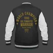 Ultimate Warrior Limited Edition Metallic Leaf Jacket
