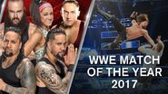 WWE Match of the Year 2017
