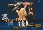 2001 WWF WrestleMania (Fleer) T&A 74