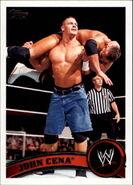 2011 WWE (Topps) John Cena 1