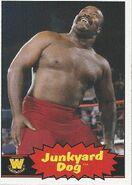 2012 WWE Heritage Trading Cards Junkyard Dog 85