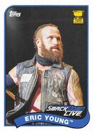 2018 WWE Heritage Wrestling Cards (Topps) Eric Young 99