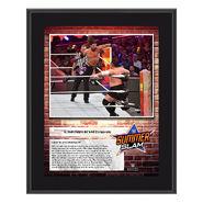AJ Styles SummerSlam 2018 10 x 13 Commemorative Plaque