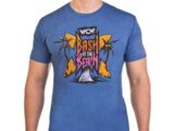 WCW Bash At The Beach Old School Logo T-Shirt