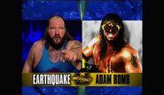 WrestleMania X - Earthquake v Bomb.00007