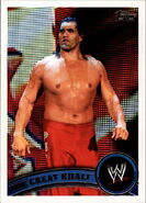 2011 WWE (Topps) The Great Khali (No.30)
