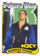 2018 WWE Heritage Wrestling Cards (Topps) Roderick Strong 108