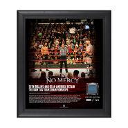 Dean Ambrose & Seth Rollins No Mercy 2017 15 x 17 Framed Plaque w Ring Canvas