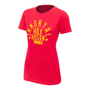 Hulk Hogan Immortal Red Women's Authentic T-Shirt
