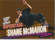 2001 WWF WrestleMania (Fleer) Shane McMahon 8