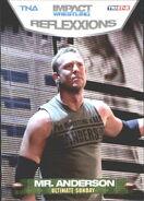 2012 TNA Impact Wrestling Reflexxions Trading Cards (Tristar) Mr. Anderson 67