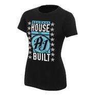 AJ Styles The House that AJ Styles Built Women's Black T-Shirt