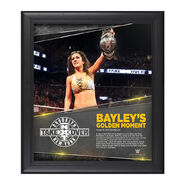 Bayley NXT TakeOver Brooklyn 15 x 17 Photo Collage Plaque
