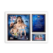 Iron Sheik Hall of Fame Matted Photo