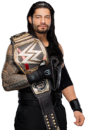 Roman reigns wwe world heavyweight champion by nibble t-d9kddlk