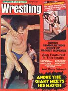 Sports Review Wrestling - September 1976
