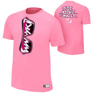 Zack Ryder Rise Above Cancer Pink Shirt
