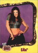 2002 WWE Absolute Divas (Fleer) Lita 29
