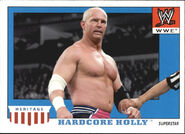 2008 WWE Heritage IV Trading Cards (Topps) Hardcore Holly 21