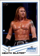 2013 WWE (Topps) Heath Slater 57
