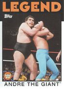 2016 WWE Heritage Wrestling Cards (Topps) Andre The Giant 73