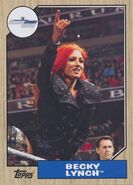 2017 WWE Heritage Wrestling Cards (Topps) Becky Lynch 42