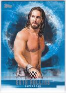 2017 WWE Undisputed Wrestling Cards (Topps) Seth Rollins 33