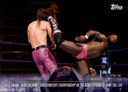 2018 WWE Road to Wrestlemania Trading Cards (Topps) Rich Swann 50
