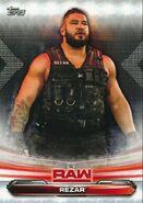 2019 WWE Raw Wrestling Cards (Topps) Rezar 58