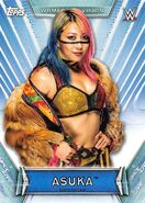 2019 WWE Women's Division (Topps) Asuka 19