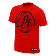 AJ Styles Untouchable Red Youth T-Shirt