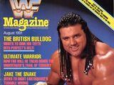 WWF Magazine - August 1991