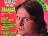 WWF Magazine - December 1989