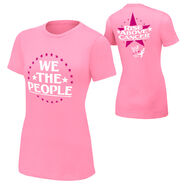 Jack Swagger Rise Above Cancer Pink women Shirt