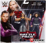 WWE Battle Packs 53 Matt Hardy & Jeff Hardy