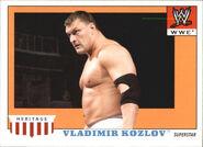 2008 WWE Heritage IV Trading Cards (Topps) Vladimir Kozlov 54