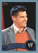 2011 WWE (Topps) Josh Matthews 10