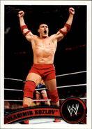 2011 WWE (Topps) Vladimir Kozlov (No.43)