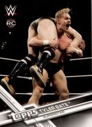 2017 WWE (Topps) Then, Now, Forever Tyler Bate 101