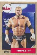 2017 WWE Heritage Wrestling Cards (Topps) Triple H 37
