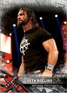 2017 WWE Road to WrestleMania Trading Cards (Topps) Seth Rollins 89