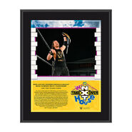 Adam Cole NXT TakeOver In Your House 2020 10 x 13 Limited Edition Plaque