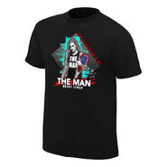 Becky Lynch The Man Neon Collection Graphic T-Shirt