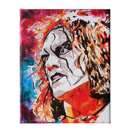 Sting 11 x 14 Gallery Wrapped Canvas Wall Art