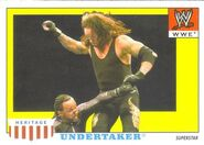 2008 WWE Heritage IV Trading Cards (Topps) Undertaker 12