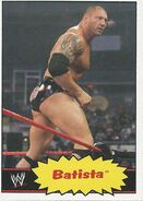 2012 WWE Heritage Trading Cards Batista 44