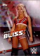 2016 WWE Divas Revolution Wrestling (Topps) Alexa Bliss 13