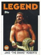2016 WWE Heritage Wrestling Cards (Topps) Jake Roberts 85