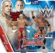 WWE Battle Packs WrestleMania 32 Ric Flair & The Rock