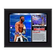 Zack Ryder WrestleMania 32 10 x 13 Photo Collage Plaque
